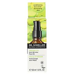 DR.SCHELLER Arganöl&Amaranth Öl 30 Milliliter - Rückseite