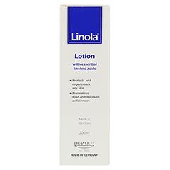 LINOLA Milch 200 Milliliter - Rückseite