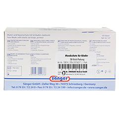 PARI NaCl Inhalationslösung Ampullen 20x2.5 Milliliter - Rückseite