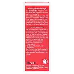 WELEDA Granatapfel straffendes Serum 30 Milliliter - Rückseite