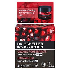 DR.SCHELLER Bio-Granatapfel Anti-Falten Pfl.Nacht 50 Milliliter - Rückseite