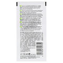 DR.SCHELLER Bio-Arganöl&Amaranth Pflegemaske 10 Milliliter - Rückseite