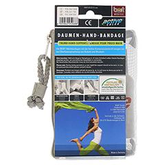 BORT ActiveColor Daumen Hand Band.S haut 1 Stück - Rückseite