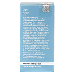 dermalogica Pure Night 50 Milliliter - Rückseite
