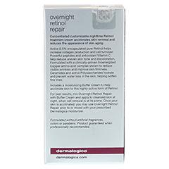 dermalogica Overnight Retinol Repair inkl. Buffer Cream 30+15 Milliliter - Rückseite
