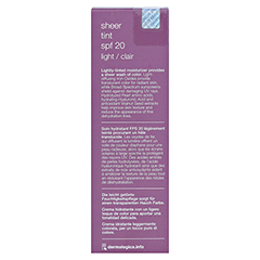 dermalogica Sheer Tint SPF 20 Light 40 Milliliter - Rückseite