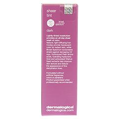 dermalogica Sheer Tint SPF 20 Dark + gratis dermalogica Reisetäschchen 40 Milliliter - Rückseite