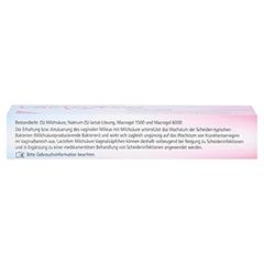 LACTOFEM Milchsäure Vaginalzäpfchen 7 Stück - Oberseite