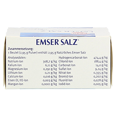 Emser Salz im Beutel 2,95g 20 Stück N1 - Oberseite