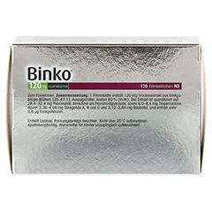 Binko 120mg 120 Stück N3 - Oberseite