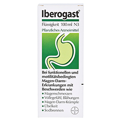 Iberogast + gratis Frisbee 100 Milliliter N3 - Vorderseite