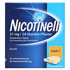 Nicotinell 21mg/24Stunden 21 Stück - Vorderseite
