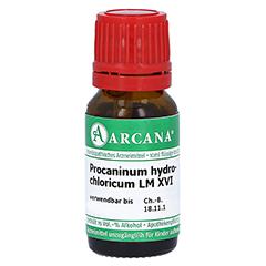 PROCAINUM HYDROCHLORICUM LM 16 Dilution 10 Milliliter N1