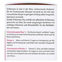 D-MANNOSE PLUS 2000 mg Pulver m.Vit.u.Mineralstof. 100 Gramm - Rechte Seite