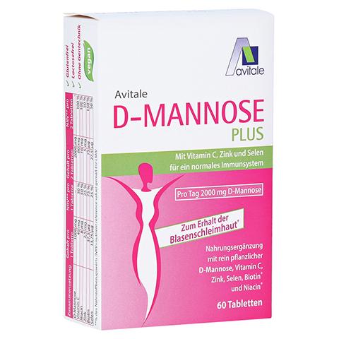 D-MANNOSE PLUS 2000 mg Tabl.m.Vit.u.Mineralstof. 60 Stück
