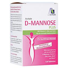 D-MANNOSE PLUS 2000 mg Tabl.m.Vit.u.Mineralstof. 120 Stück