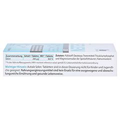 SELEN 200 µg Tabletten 120 Stück - Rechte Seite