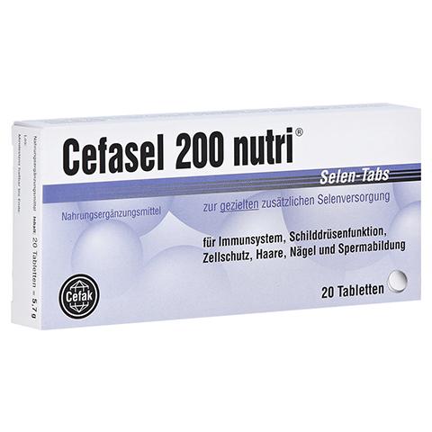 Cefasel 200 Nutri Selen-Tabs 20 Stück