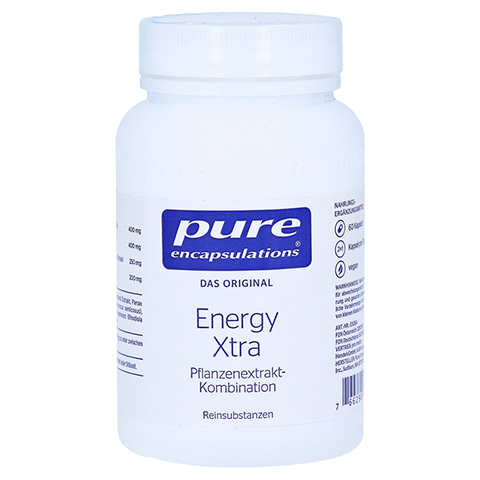 pure encapsulations Energy Xtra 60 Stück