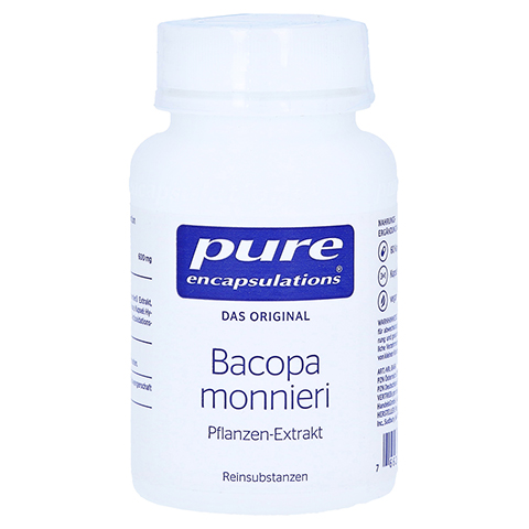 PURE ENCAPSULATIONS Bacopa monniera Kapseln 60 Stück