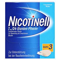 Nicotinell 7mg/24 Stunden 7 Stück - Vorderseite