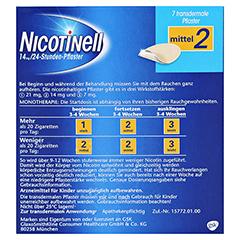 Nicotinell 14mg/24 Stunden 7 Stück - Rückseite