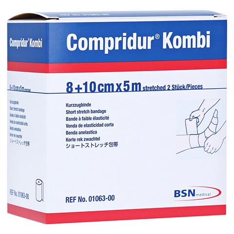 COMPRIDUR Kombi Binden je 1 Binde mit 8 cm+10 cm 1 Stück