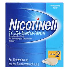 Nicotinell 14mg/24 Stunden 7 Stück - Vorderseite
