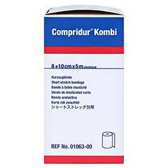 COMPRIDUR Kombi Binden je 1 Binde mit 8 cm+10 cm 1 Stück - Rechte Seite