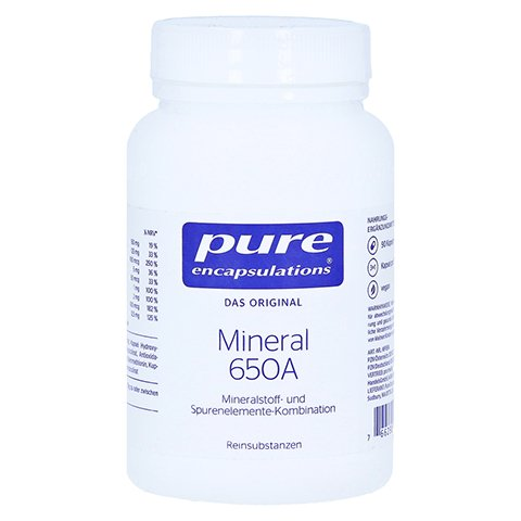 PURE ENCAPSULATIONS Mineral 650A Kapseln 90 Stück
