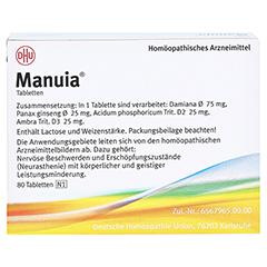 MANUIA Tabletten 80 Stück N1 - Rückseite