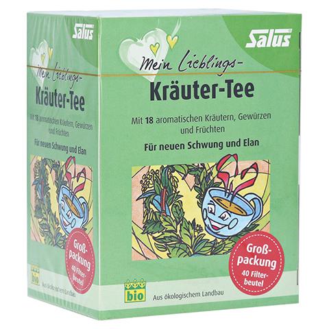 MEIN LIEBLINGS-Kräuter-Tee Bio Salus Filterbeutel 40 Stück