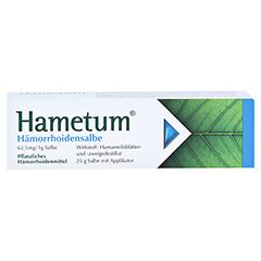 Hametum Hämorrhoidensalbe 25 Gramm N1 - Vorderseite