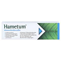 Hametum Hämorrhoidensalbe 25 Gramm N1 - Rückseite