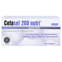 Cefasel 200 Nutri Selen-Tabs 200 Stück - Vorderseite