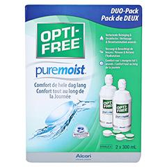 OPTI-FREE PureMoist Multifunktions-Desinf.Lsg. 2x300 Milliliter - Rückseite
