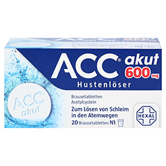 ACC akut 600mg Hustenlöser 20 Stück N1 - Vorderseite