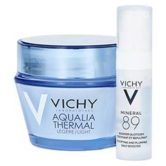 VICHY AQUALIA Thermal Dynam.Pflege leicht + gratis Vichy Mineral 89 Mini 50 Milliliter