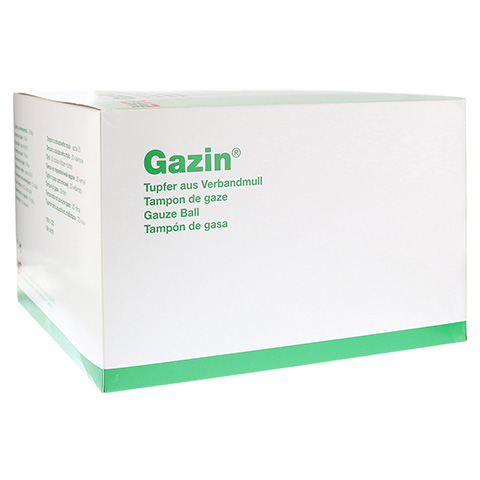 GAZIN Tupfer pflaum.steril 2+2 Schutzr.o.RK 100 St�ck