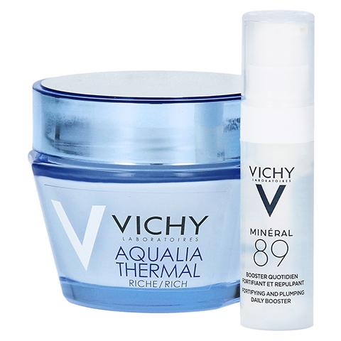 VICHY AQUALIA Thermal Dynam.Pflege reichh. + gratis Vichy Mineral 89 Mini 50 Milliliter