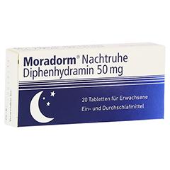 Moradorm Nachtruhe Diphenhydramin 50mg 20 Stück N2