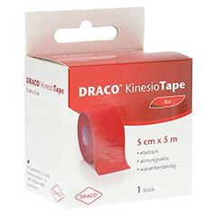 DRACO KINESIOTAPE 5 cmx5 m rot 1 Stück
