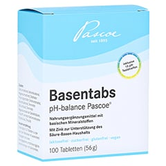 BASENTABS pH Balance Pascoe Tabletten 100 Stück