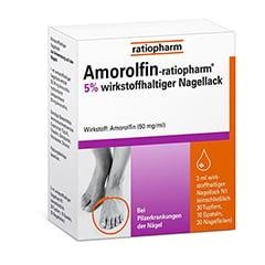 Amorolfin-ratiopharm 5% 3 Milliliter N1