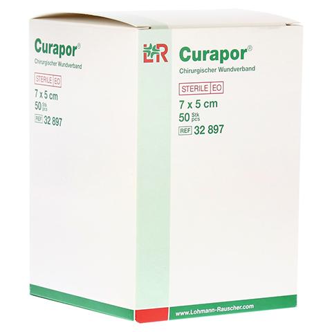 CURAPOR Wundverband steril chirurgisch 5x7 cm 50 Stück