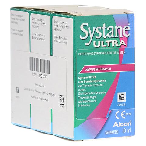SYSTANE Ultra Benetzungstropfen 3x10 Milliliter