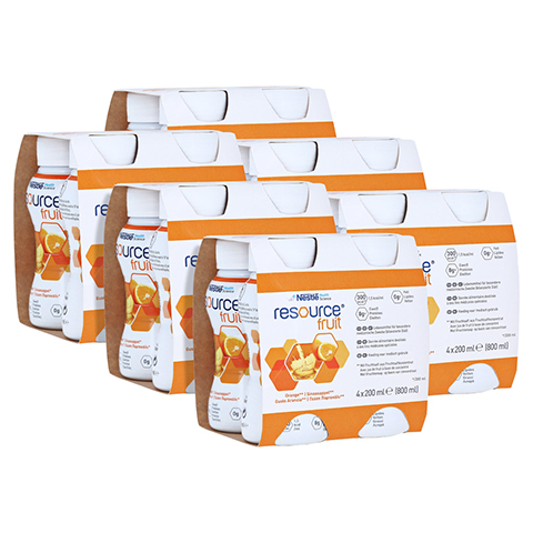RESOURCE Fruit Orange 6x4x200 Milliliter