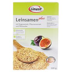 LINUSIT Leinsamen plus 500 Gramm - Vorderseite
