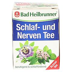 Bad Heilbrunner Schlaf- und Nerven Tee 8 Stück - Vorderseite
