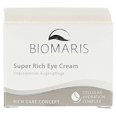 BIOMARIS super rich eye cream 15 Milliliter - Vorderseite
